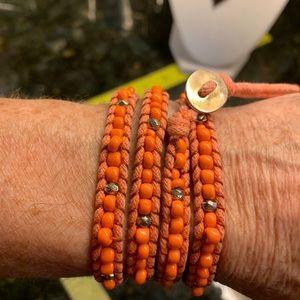 Jewelry - Halloween Fall Autumn Jewelry Bundle Wrap Macramé!